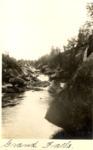Grand Falls on the Wassataquoik by David Field