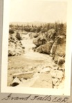 Grand Falls on the Wassataquoik (E.B.D.) by David Field