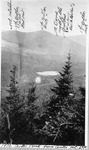 Center Pond from Center Mt., 1916 (L.K.M.) by David Field