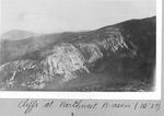 Cliffs At Northwest Basin, 1927 (W.) by David Field