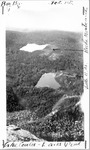 View of Lake Cowles and Davis Pond from Rim of Northwest Basin by David Field
