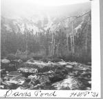 Davis Pond, 1931 (H.W.P.) by David Field