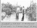 Deadwater on West Fork, Wassataquoik, ½ Mile West of Joe Francis Camp (L.K.M.) by David Field
