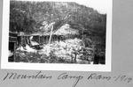 Mountain Camp Dam, 1917 by David Field