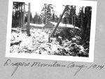 Draper'S Mountain Camp, 1914 by David Field