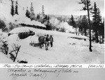 Tip-Top Camp, Katahdin, Draper Operation, 1911-1912 (No. 174. Negative Is Enlargement of Photo on Opposite Page.) by David Field