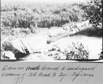Dam on Middle Branch Wassataquoik, Crossing of Tote Road to Tip-Top Camp by David Field
