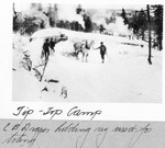 Tip-Top Camp. E.B. Draper Holding Rig Used For Toting by David Field