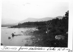 Turner Mt. from Katahdin Lake Dam, 1929 by David Field
