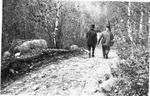 Wassataquoik Tote Road Above Draper Half-Way Camps (E. B. Draper) by David Field