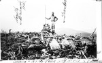 Cairn on North Peak of Turner Mountainm 1928. L.W. Gibbs? by David Field