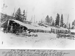 The Pogy Brook Camp (L. Rogers). Probably Built by Tracey. by David Field