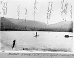 Russell Pond, 1902, Mansfield Fishing. (L. Rogers) by David Field and L. Rogers