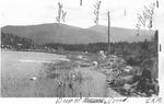 Deep Pond, Looking Toward Russell Mt. (L.K.M.) by David Field