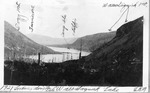 Looking Se Over Wassataquoik Lake Toward Katahdin, 1921 (L.K.M.) by David Field