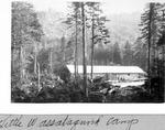 Little Wassataquoik Camp by David Field