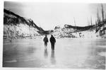 Logs At Head of Wassataquoik Lake, 1914 by David Field