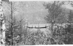Batteau on Wassataquoik Lake by David Field