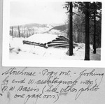 Storehouse, Pogy Mt., Looking by End of Wassataquoik Into Northwest Basin. (See Other Photo one Page Over.) by David Field