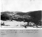 The Pogy Mt. Camp, Looking Toward Northwest Basin. E.B. Draper. by David Field