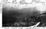 Looking Towards the Turner Mts. and North Pogy from the South Peak of South Branch Mts. by David Field