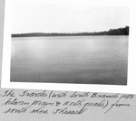 The Traveler (With South Branch Mts. Between Main and North Peaks) from South Shore Thissell Pond by David Field