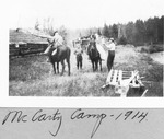 Mccarty Camp, 1914 by David Field