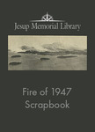 Jesup Memorial Library Scrapbook of the Fire of 1947