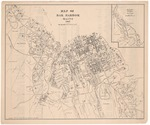 Map of Bar Harbor, Maine (and Resident Index) 1907 by Bar Harbor Summer Residents Association