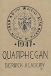 Berwick Academy Yearbook: Quamphegan, 1947