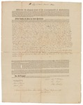 Copy of Deed Number 1 for 135,922 acres of land by Samuel Phillips, Leonard Jarvis, and John Read