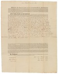 Copy of Deed Number 2 for 138,240 acres of land by Samuel Phillips, Leonard Jarvis, and John Read