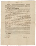 Copy of Deed Number 4 for 130,640 acres of land by Samuel Phillips, Leonard Jarvis, and John Read