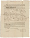Copy of Deed Number 5 for 138,240 acres of land by Samuel Phillips, Leonard Jarvis, and John Read