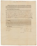Copy of Deed Number 14 for 132,541 acres of land by Samuel Phillips, Leonard Jarvis, and John Read