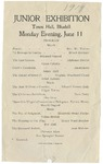 Junior Exhibition Program, 1917 by Blue Hill Academy and George Stevens Academy