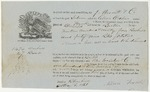 Blue Hill Shipping Receipt: Alma Odlin, May 1861 (potatoes)