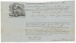 Brooksville Shipping Receipt: Amanda Powers, June 1861