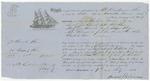 Blue Hill Shipping Receipt: Amanda Powers, July 1861