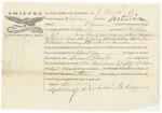 Blue Hill Shipping Receipt: Astoria, September 1860