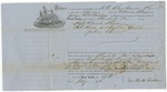 Blue Hill Shipping Receipt: Catharine Wilcox, 1862