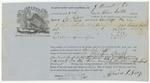 Blue HillShipping Receipt: Clara Norton, April 1861