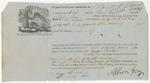 Brooksville Shipping Receipt: Clara Norton, October 1861