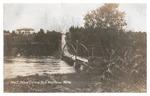 Falls Bridge Postcard by Eastern Illustrating Company