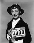 License plate 1953, Phyllis Kirk by Maine Bureau of Motor Vehicles