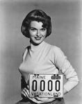 License plate 1955, Pat Blake by Maine Bureau of Motor Vehicles