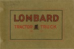 Lombard Tractor Truck by Lombard Traction Engine Co.
