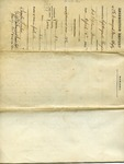 Inspection Report of the 7th Co. Unassigned Maine Infantry by Augustin Thompson