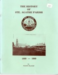 The History of Ste. Agathe Parish
