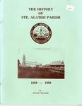 The History of Ste. Agathe Parish